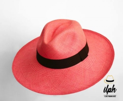 55c97cf116739 WIDE BRIM FEDORA PINK – PANAMA HAT – Panama Hats Producer and ...